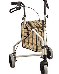 Drive Medical Winnie Lite Supreme Aluminum Three Wheel Rollator - Gifts for Grandma