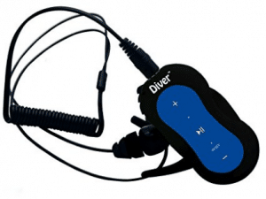 Diver DB-10 4GB Waterproof MP3 Player with Waterproof Earphones
