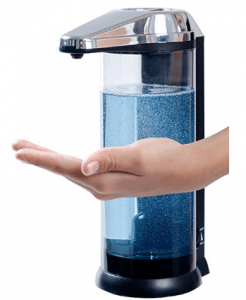 Secura 17oz/500ml Premium Touchless Battery Operated Electric Automatic Soap Dispenser