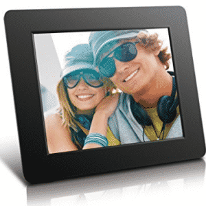 Aluratek (ADPF08SF) 8 Inch Digital Photo Frame