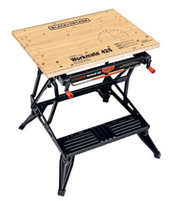 Black & Decker WM425-A Portable 550-Pound Project Center and Vise - Portable Workbenches