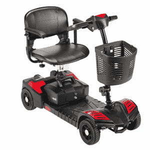 Drive Medical Scout Compact Travel Power Scooter, Gifts for Grandma