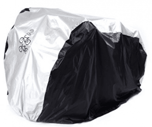 Bike Covers, 2 Bikes Cover, SAVFY 180T Heavy Duty Outdoor Waterproof Bicycle Cover