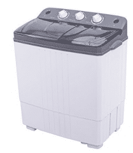 Costway Mini Portable Compact Twin Tub 16Lbs Washing Machine And Washer Spin Cycle, Mini Washing Machines