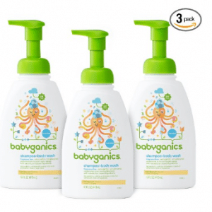 Babyganics Baby Shampoo and Body Wash, Fragrance Free