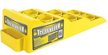 Camco 44573 Yellow Tri-Leveler - Car Ramps
