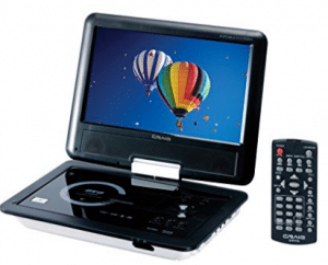 Craig 9-Inch TFT Swivel Portable DVD/CD Player with Remote - Xmas Presents for Boyfriends