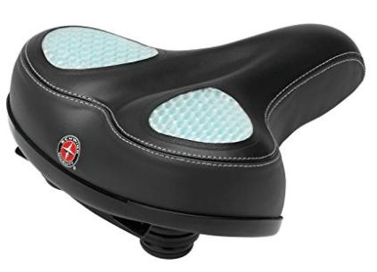 Schwinn Wide Gel Comfort Seat - Comfortable Bike Seats