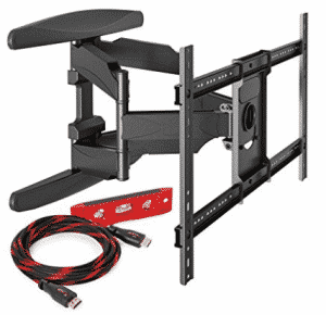 Mount Factory Heavy-Duty Full Motion Articulating TV Wall Mount, Corner TV Wall Mounts
