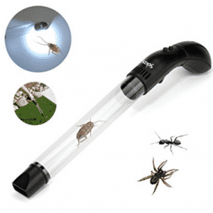Pest Control, Sokos Humane Insects and Bug Catcher Vacuum and Spider Catcher with LED Flashlight
