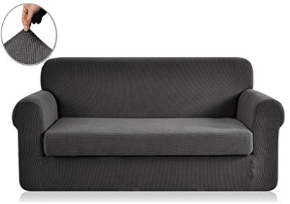Chunyi 2-Piece Jacquard Polyester Spandex Sofa Slipcover