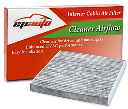 EPAuto CP134 (CF10134) Honda & Acura Premium Cabin Air Filter includes Activated Carbon, Cabin Air Filters