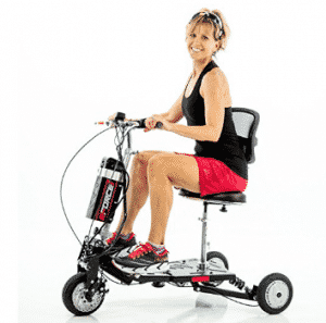 EWheels EForce-1 Fast Electric Scooter Lithium Power - Speed 12 mph
