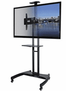 Kanto MTM65PL Mobile TV Stand with Mount for 37 to 65 inch Flat Panel Screens, TV Stand With Mounts