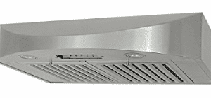 KOBE CHX3830SQB-2 Brillia 30-inch Under Cabinet Range Hood