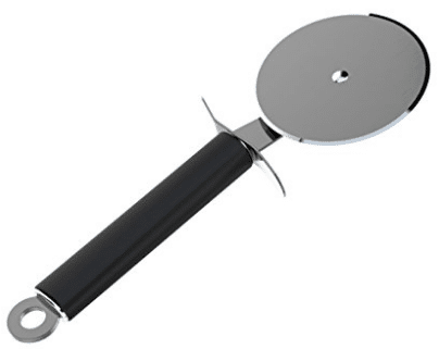 Pizza Cutter Wheel, Wotmic Pizza Slicer with Ergonomic Anti-Slip Grip Handle