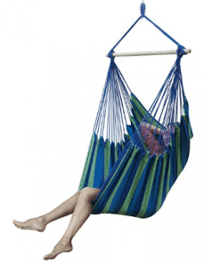 Sorbus Large Brazilian Hammock Chair -Extra Long Bed Swing Seat-Quality Cotton for Superior Comfort