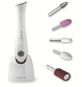 Fancii Professional Electric Manicure & Pedicure Nail File Set with Stand