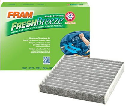 FRAM CF10285 Fresh Breeze Cabin Air Filter with Arm & Hammer - Cabin Air Filters