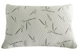 Sleep Whale - Premium Adjustable Shredded Memory Foam Pillow Derived from Bamboo