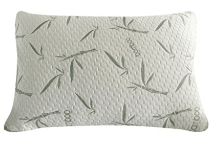 Sleep Whale - Premium Adjustable Shredded Memory Foam Pillow Derived from Bamboo