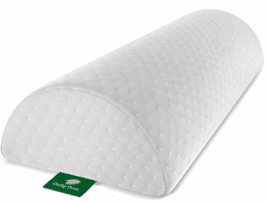 Back Pain Relief Half-Moon Bolster / Wedge by Cushy Form