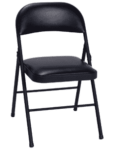 Cosco Vinyl 4-Pack Folding Chair, folding chairs