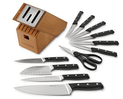 Calphalon Classic Self-Sharpening Cutlery Knife Block Set with SharpIN Technology, Calphalon Knife Sets