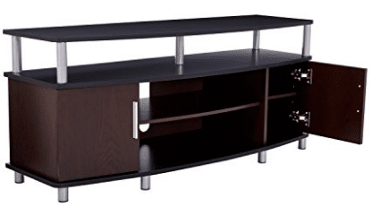 Ameriwood Home Carson TV Stand for TVs up to 50 Inches Wide - TV Stand With Mounts