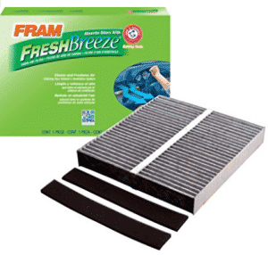 FRAM CF10140 Fresh Breeze Cabin Air Filter with Arm & Hammer, Cabin Air Filters