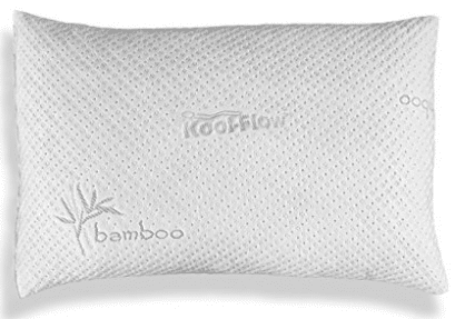 Hypoallergenic Pillow – ADJUSTABLE THICKNESS Bamboo Shredded Memory Foam Pillow