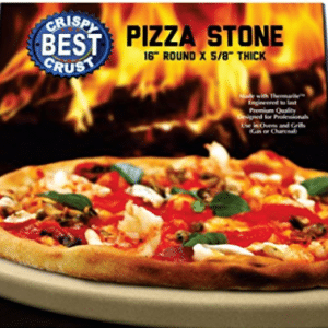 Make The Best Crispy Crust Pizza. Use the Only Pizza Stone with Thermarite (Engineered Tuff Cordierite).