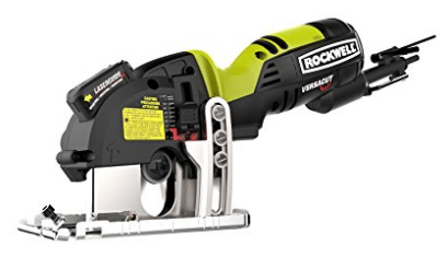 Rockwell RK3440K Versacut 4.0 Amp Ultra-Compact Circular Saw with Laser