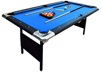 Hathaway Fairmont 6 ft. Portable Pool Table, Outdoor Pool Tables