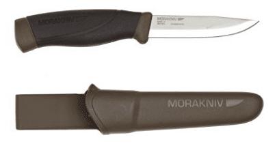 Morakniv Companion Heavy Duty Knife with Carbon Steel Blade