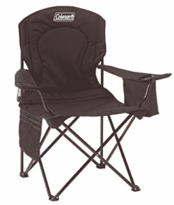 Coleman Oversized Quad Chair with Cooler, folding chairs