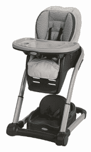 Graco Blossom 4-in-1 Convertible High Chair Seating System, Baby Trend High Chairs