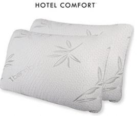 Hotel Comfort Bamboo Covered Memory Foam Pillow