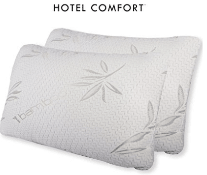 Hotel Comfort Bamboo Covered Memory Foam Pillow