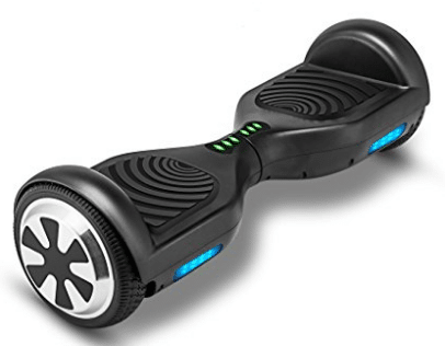 VEEKO Hoverboard UL2272 Certified, Electric Smart Self Balancing Scooter with LED Lights