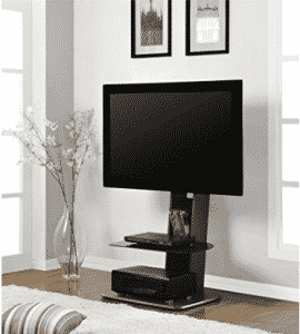 Ameriwood Home Galaxy TV Stand with Mounts for TVs up to 50""