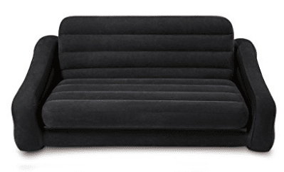 "Intex Pull-out Sofa Inflatable Bed, 76"" X 87"" X 26"","