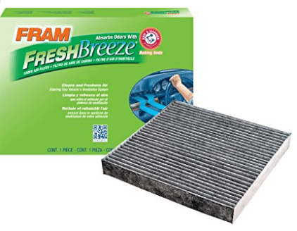 FRAM CF10134 Fresh Breeze Cabin Air Filter with Arm & Hammer, Cabin Air Filters