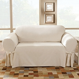 Sure Fit Cotton Duck - Sofa Slipcover