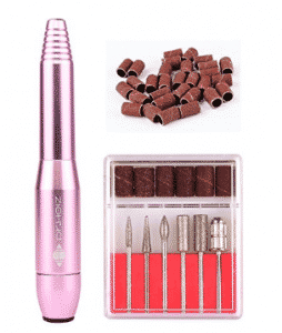 6 in 1 Professional Nail File Drill-Electric Mini Nail polisher Machine for Acrylics