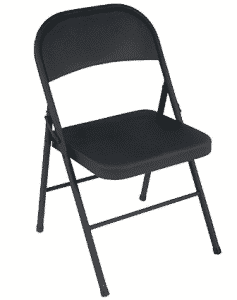 Cosco All Steel 4-Pack Folding Chair - folding chairs