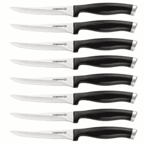 Calphalon Contemporary 8-Piece Stamped Steak Knife Set, Calphalon Knife Sets