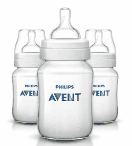 Philips Avent Anti-colic Baby Bottles Clear, Milk Bottles