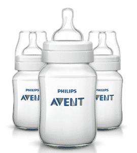 Philips Avent Anti-colic Baby Bottles Clear, Milk Bottles