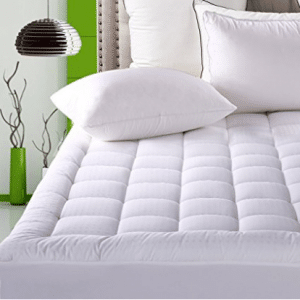 Mattress Pad Cover Queen Size Pillowtop 300TC Down Alternative Mattress Topper